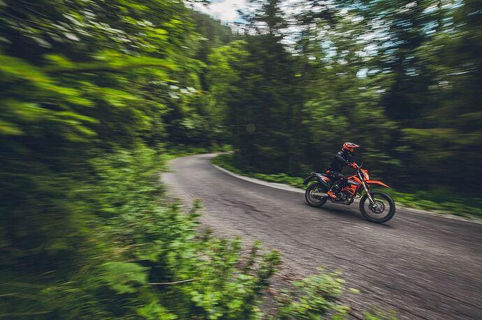 KTM 690 ENDURO R 2021 Action