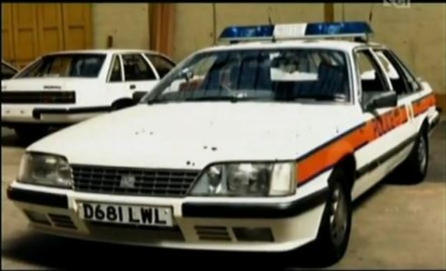 Hungerford patrol car